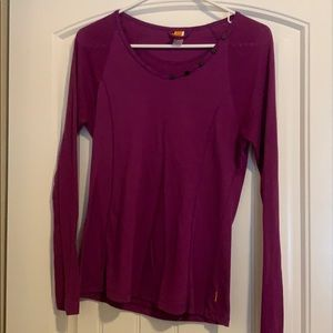 Purple Lucy long-sleeve shirt